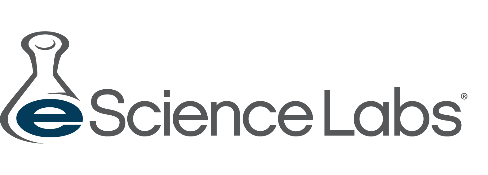 eScienceLabs logo with Erlenmeyer flask